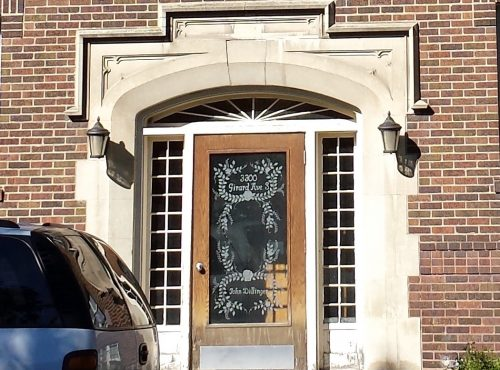 3300 Girard Ave S, Where John Dillinger's Name is on the Door
