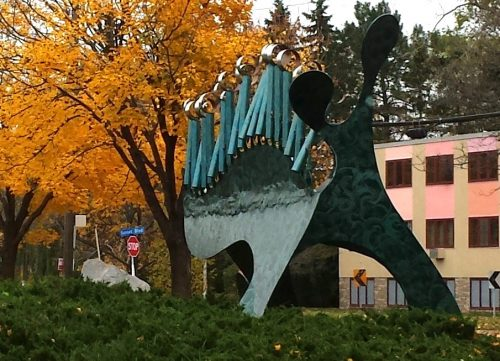 Loch Ness by Bruce Stillman (1983), 3201 Cedar Lake Ave