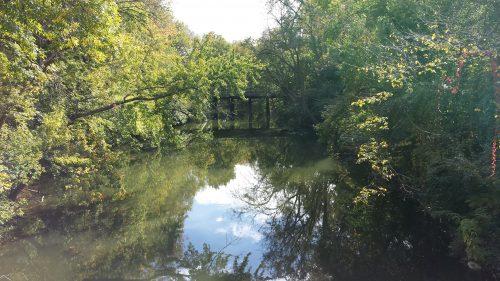 Cedar-Isles Channel, from the Burnham Road Bridge