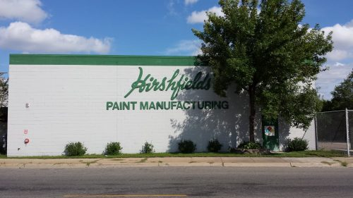 Hirshfield's Paint Manufacturing (4450 Lyndale Ave N, 1957)