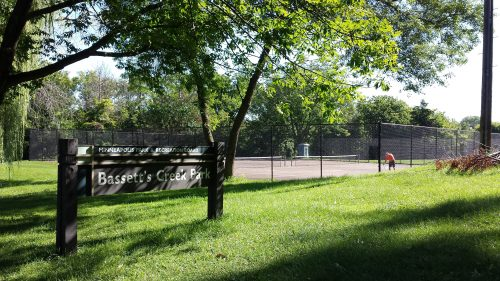 Tennis Courts at Bassett's Creek Park
