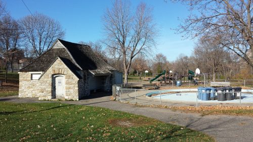 Depression-Era Bathhouse in Riverside Park