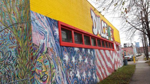 Dulce Mex Building on Clinton Avenue Near Lake Street