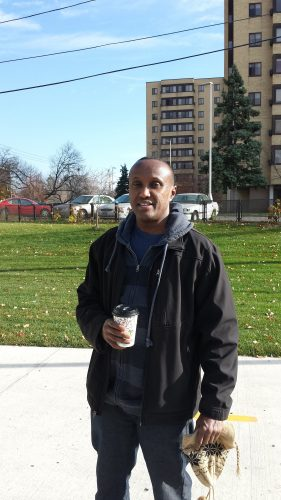 Jamal, Volunteer Riverside Mall Guide