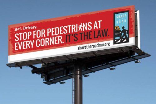 crosswalk law billboard