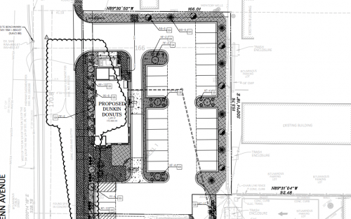 Proposed fast-food restaurant space at Penn and 66th