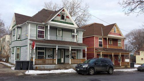 Old 4plexes that add to the neighborhood character