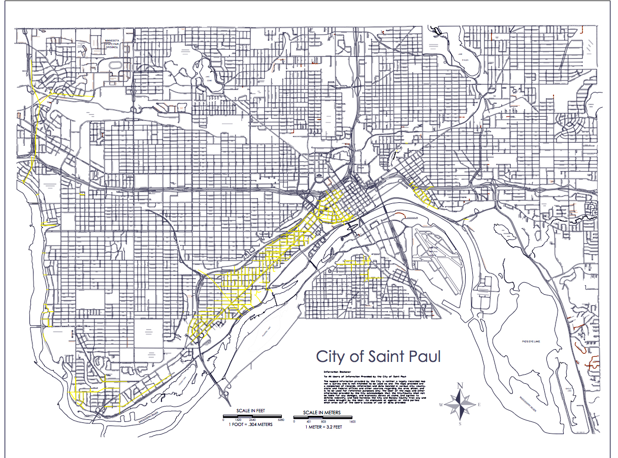 Downtown Minneapolis Map Pdf on