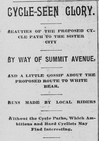 Summit Avenue Cycle PAth