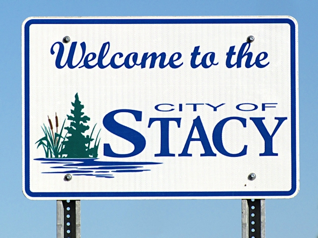 Stacy MN sign