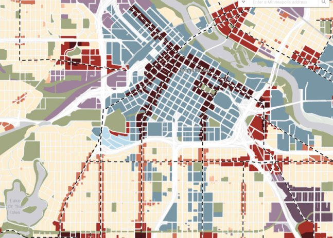 Mpls 2040 Plan Map