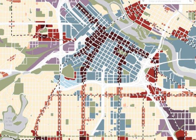 Mpls 2040 Plan Map