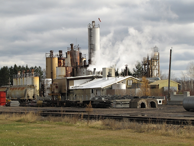 Paper Mill in Carleton