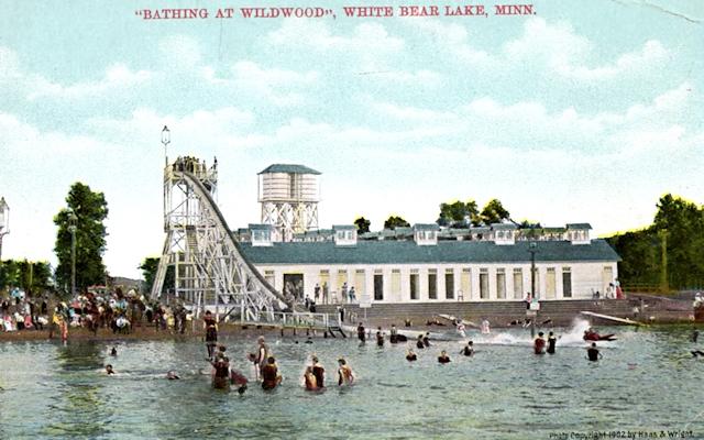 """""""Bathing at Wildwood"""""""