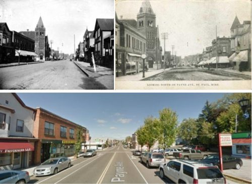 Payne Avenue historical images