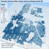 Shaffer Property Value Increase Map