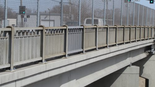 Picture of Bridge Railings on 94th Street Overpass