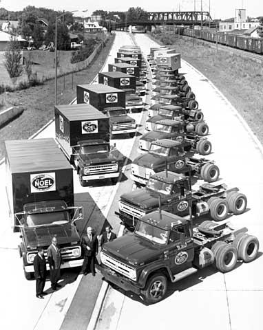Ayd Mill Road Trucks 1965