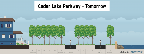 Cedar Lake Parkway Tomorrow
