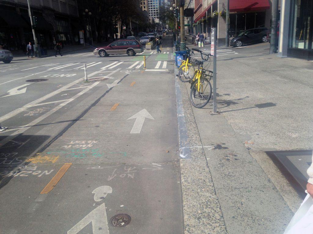 Seattle Bike Lane 4