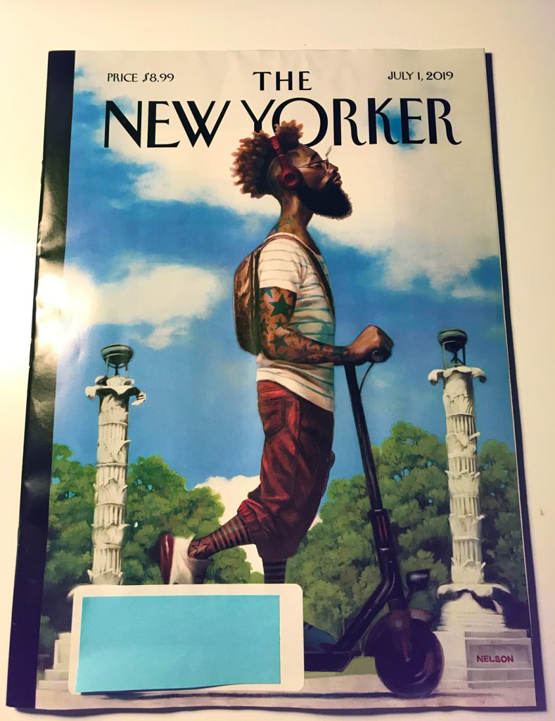 New Yorker Scooter Cover