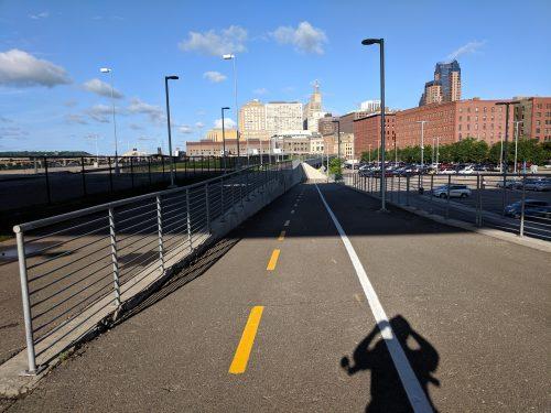 "View along ""Union Depot"" trail"
