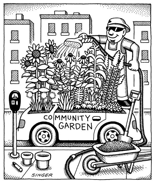 (no Exit) Community Garden Car