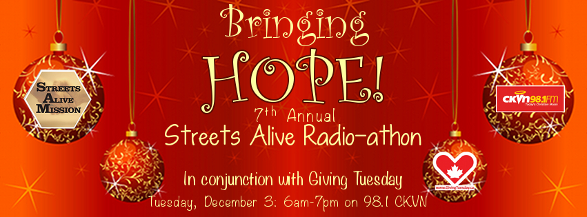 Bringing Hope Radioathon Giving Tuesday
