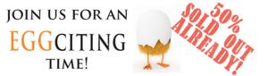 Chicken Run Dinner 2014 - half sold out