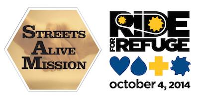 RIDE for Refuge - Streets Alive Mission