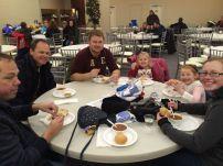 BNI Windy City enjoying chilli supper after a great walk! BNI Windy City team page: http://bit.ly/BNIWindyCityCNOY2015