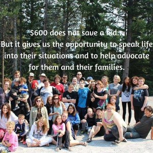$600 does not save a kid...
