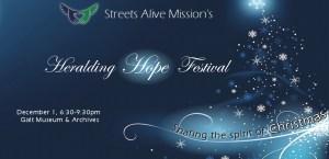 Heralding Hope Festival Christmas 2015