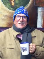 Pastor Ken Kissick - Streets Alive Mission Lethbridge - Coldest Night of the Year 2016 toque