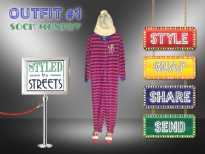 Styled by Streets - Sock Monkey - Outfit 1