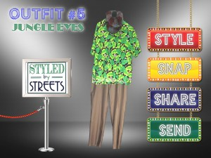 Styled by Streets - Outfit 5 - jungle eyes