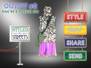 Styled by Streets - Outfit 6 - SNOW ON THE GO