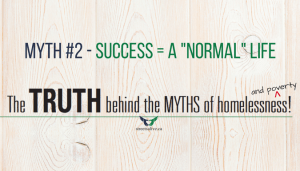 Success may not look like a normal life - myths about poverty