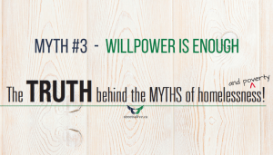 Willpower is enough - poverty myth 3