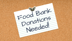 Food Bank Donations Needed