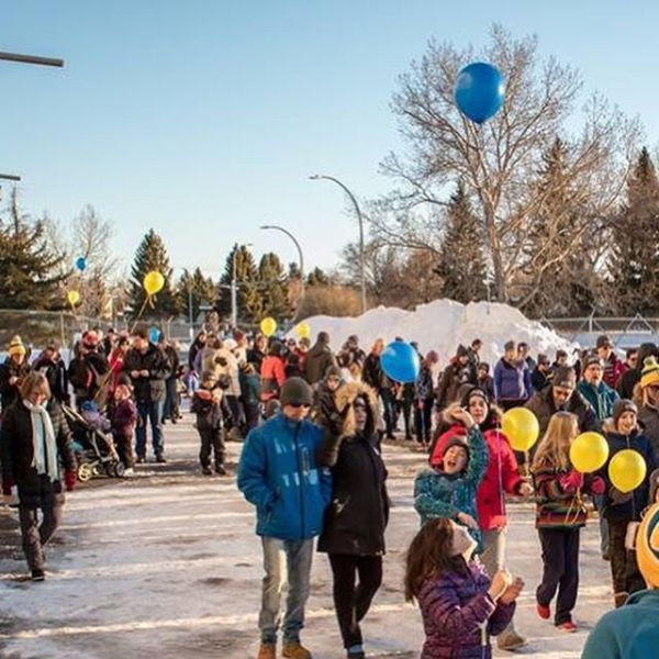 Coldest Night of the Year Lethbridge mini-recap : With over 175 Walkers, in was a fantastic Walk. The wind died down, the sunset was glorious, and the Walkers raised over $50k!! (The scoreboard doesn't have all the last minute donations received on site yet!)