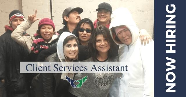 Client Services Assistant - now hiring
