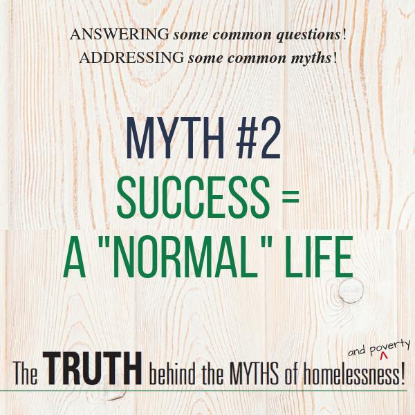 Myth #2 - Success = a
