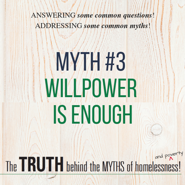 Myth - Willpower is enough