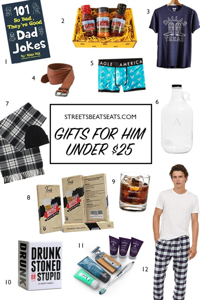 gifts for him under 25 streets beats and eats gift guide 2018