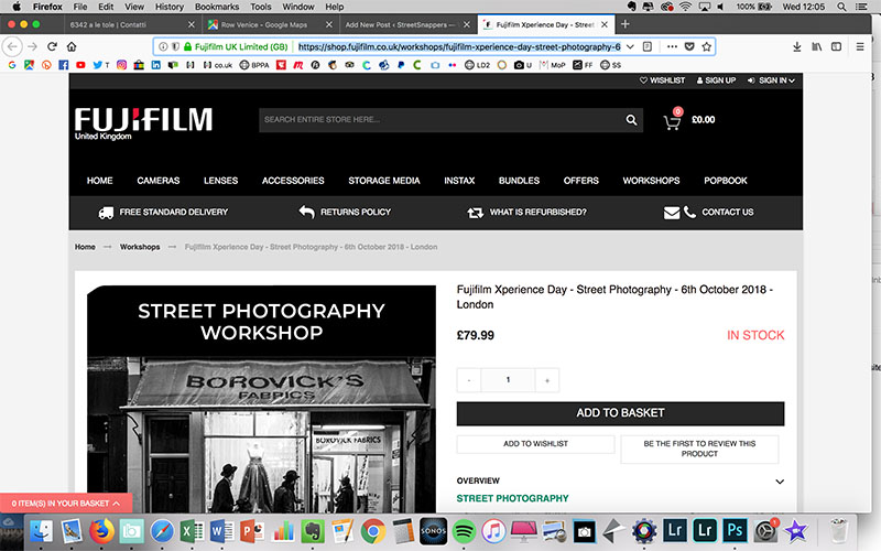 Hands-on Fujifilm Xperience street photography workshops