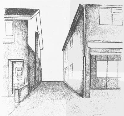 Sketch - exising site. Ballymac Friendship Trust