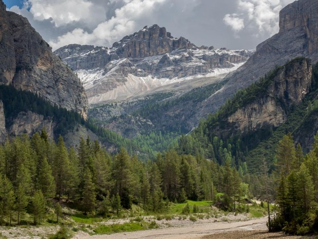 Dolomites near Valparola Pass