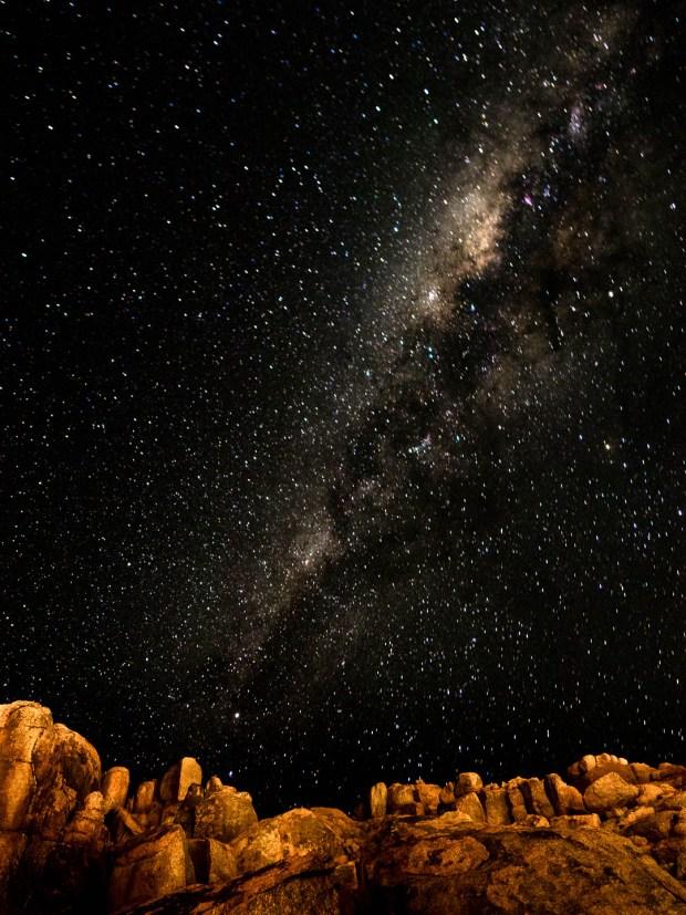 Starry Canyon Night