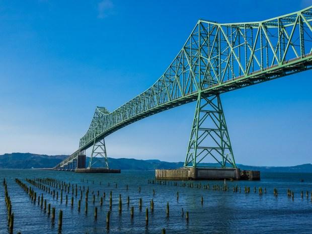 Astoria Megler Bridge  1/640 sec - f/11 - ISO 400 - 20mm